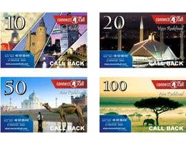#22 untuk Graphic Design for Calling Cards 4 Different Denominations (Front & Back) oleh doelqhym