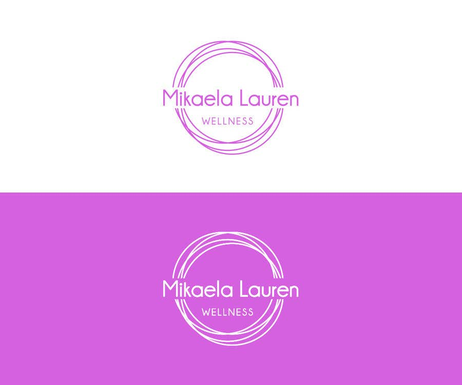 "Konkurrenceindlæg #                                        529                                      for                                         Logo for ""Mikaela Lauren Wellness"""