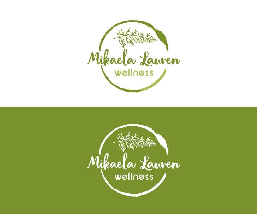 """Konkurrenceindlæg #                                        530                                      for                                         Logo for """"Mikaela Lauren Wellness"""""""