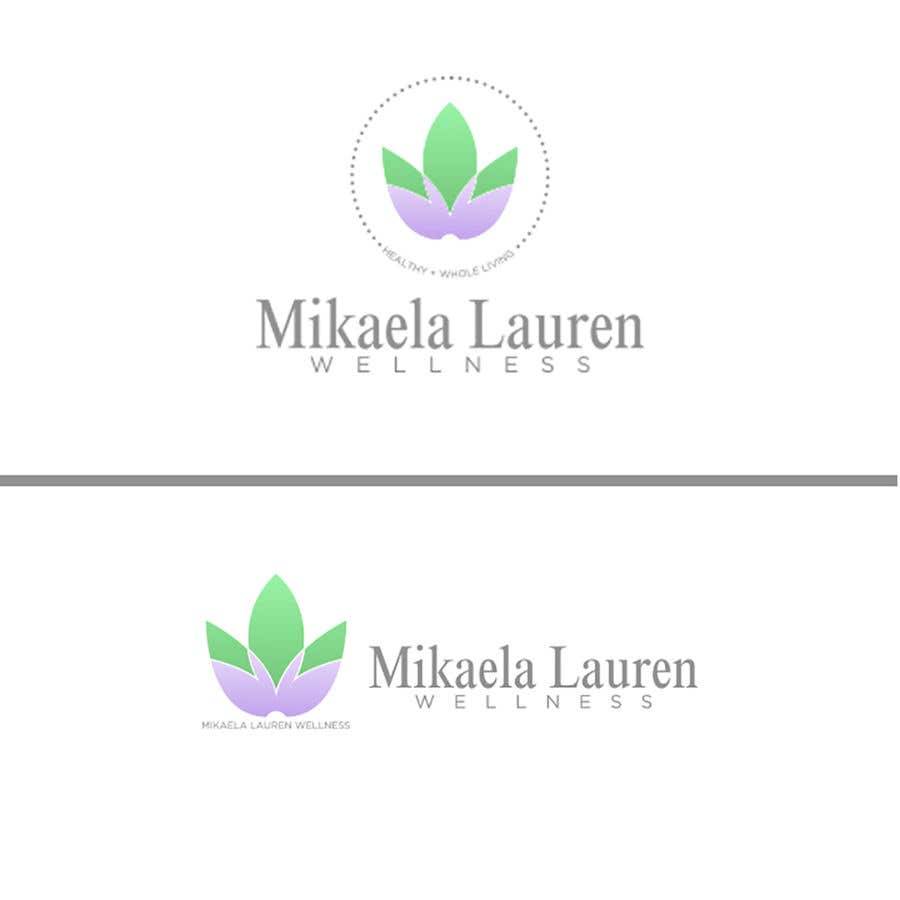"Konkurrenceindlæg #                                        474                                      for                                         Logo for ""Mikaela Lauren Wellness"""