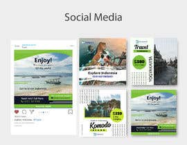 nº 43 pour A Travel company needs a design template for brochure, social media posts and marketing par lunaticscreative