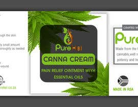 shawonsowdagor tarafından Design a label for my canna cream için no 19