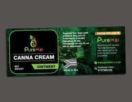 MDSUHAILK tarafından Design a label for my canna cream için no 6