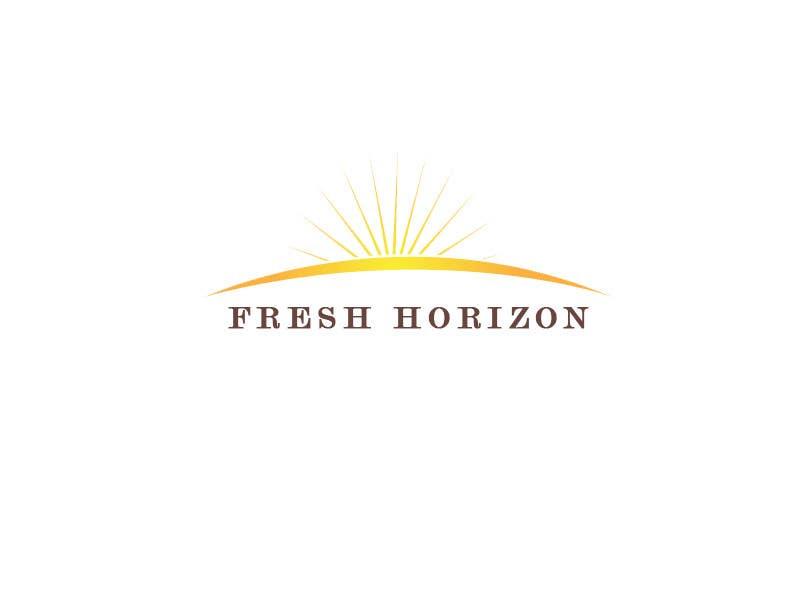 Inscrição nº                                         8                                      do Concurso para                                         Logo Design for nutritional products called Fresh Horizon