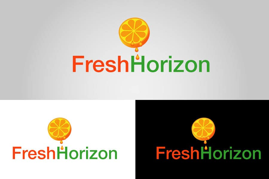 Proposition n°14 du concours Logo Design for nutritional products called Fresh Horizon