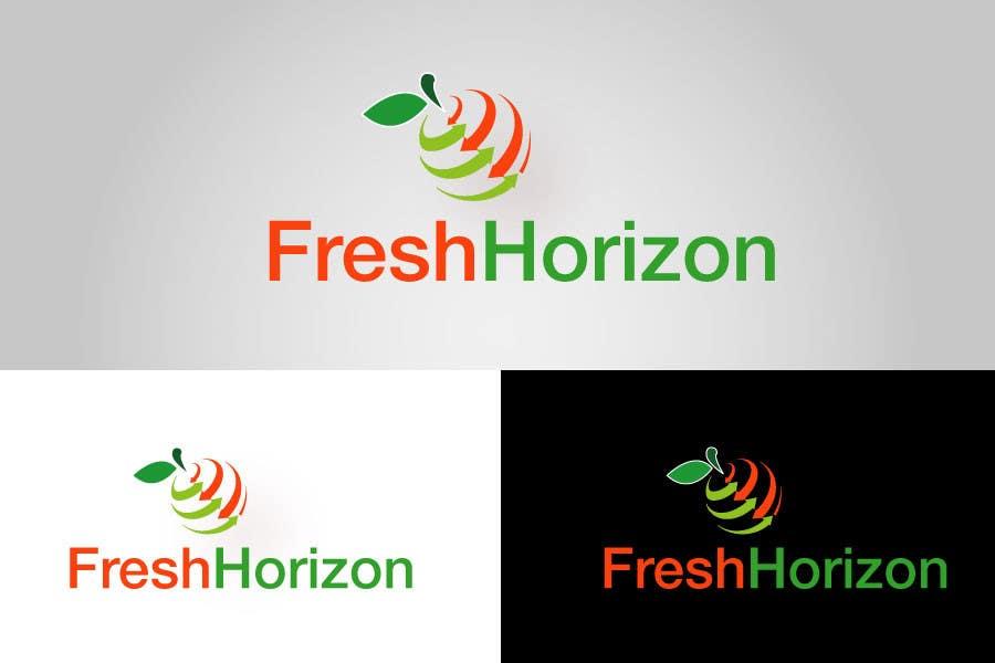 Inscrição nº                                         15                                      do Concurso para                                         Logo Design for nutritional products called Fresh Horizon