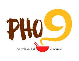 "#36 for Design a Logo for a Vietnamese Kitchen Restaurant ""Pho Nine"" by Chaddict"