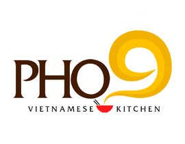 "#56 for Design a Logo for a Vietnamese Kitchen Restaurant ""Pho Nine"" by Chaddict"