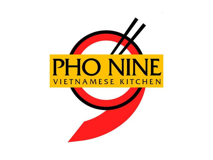 "Contest Entry #69 for Design a Logo for a Vietnamese Kitchen Restaurant ""Pho Nine"""