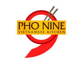 "#71 for Design a Logo for a Vietnamese Kitchen Restaurant ""Pho Nine"" by Chaddict"
