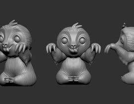 #6 for 3d Printable Cute Sloth by peabodybrando
