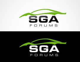 #34 untuk Logo Design for SGA Forums Automotive Site oleh blitzguru