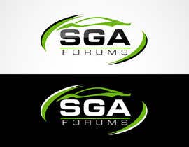 #49 untuk Logo Design for SGA Forums Automotive Site oleh blitzguru