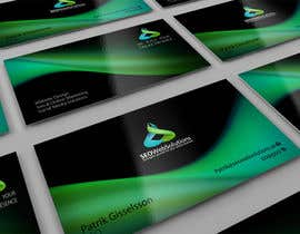 #52 for Business Card Design for SEOWeb Solutions by midget