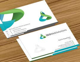 nº 54 pour Business Card Design for SEOWeb Solutions par jobee