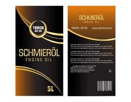#259 untuk SCHMIERÖL Engine Oil Logo + grade artwork oleh pgaak2
