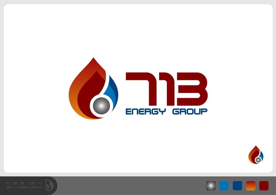 #105 for Complete Make Over, Logo, Website, Brochures, Flyers.  Start w/Logo,  713 Energy Group by Dewieq