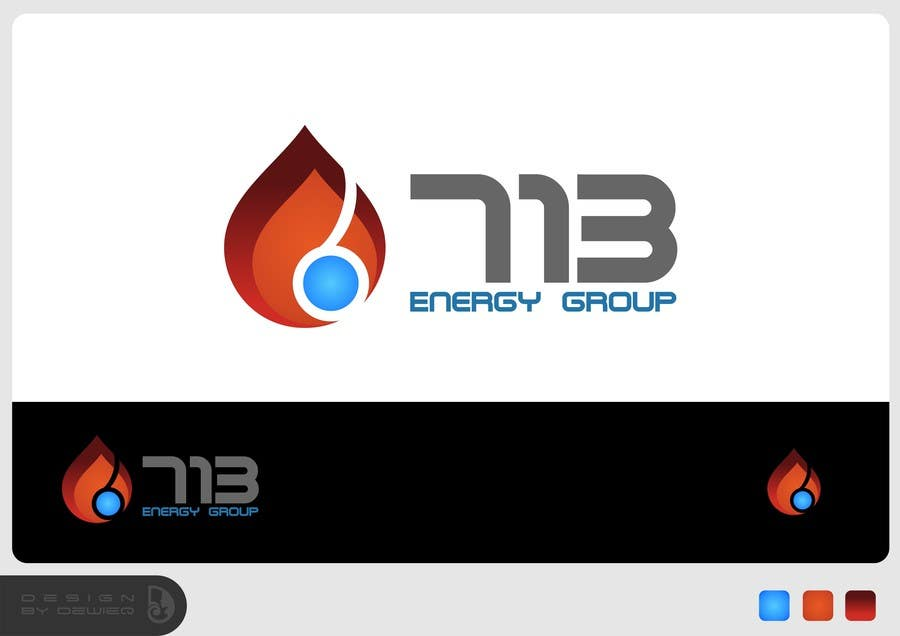#156 for Complete Make Over, Logo, Website, Brochures, Flyers.  Start w/Logo,  713 Energy Group by Dewieq