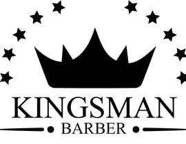 #141 for design me a cool but simple barber shop logo- (Kingsman Barbers) black & white only! by j82890