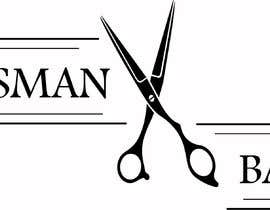 #145 for design me a cool but simple barber shop logo- (Kingsman Barbers) black & white only! by AtulBhukal