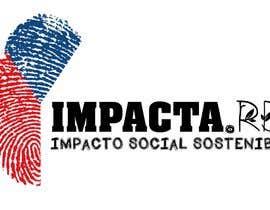 """#27 para Logo design for """"IMPACTA.RD"""" de Printedreams"""