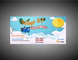 #17 dla 4 foot x 8 foot banner design przez RABIN52