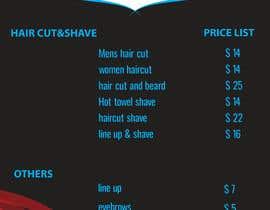 #25 for create me a price list af AlaminhawladarGd