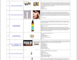 #8 for Find Information from Websites for makeup and fashion artist af maraluiza
