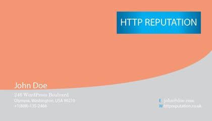 Graphic Design Contest Entry #21 for Business Card and letter head Design for httpreputation