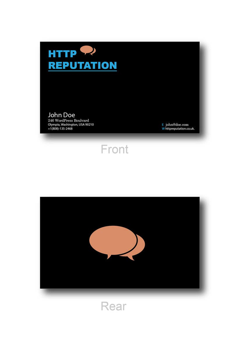 #35 for Business Card and letter head Design for httpreputation by ravimorey