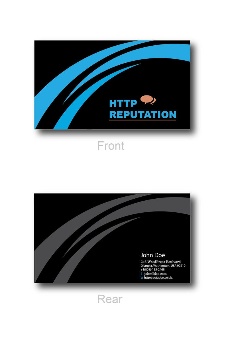#36 for Business Card and letter head Design for httpreputation by ravimorey