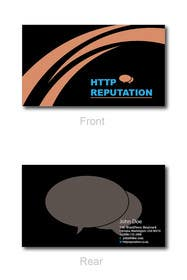 Graphic Design Contest Entry #39 for Business Card and letter head Design for httpreputation