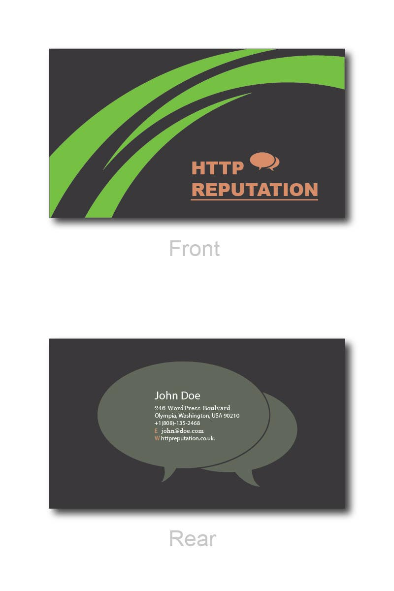 #42 for Business Card and letter head Design for httpreputation by ravimorey
