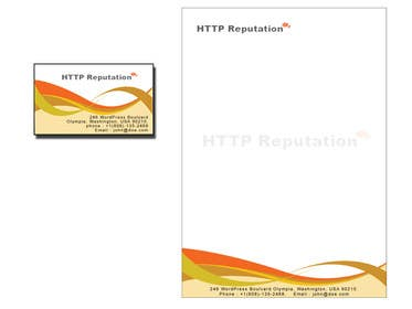 Graphic Design Contest Entry #27 for Business Card and letter head Design for httpreputation