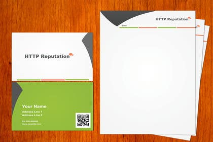 Graphic Design Contest Entry #9 for Business Card and letter head Design for httpreputation