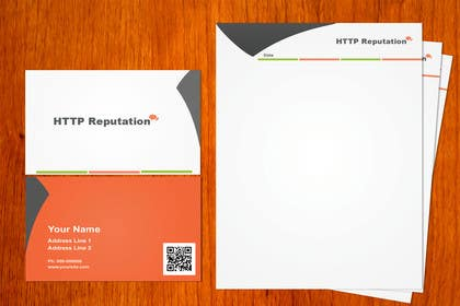 Graphic Design Contest Entry #10 for Business Card and letter head Design for httpreputation
