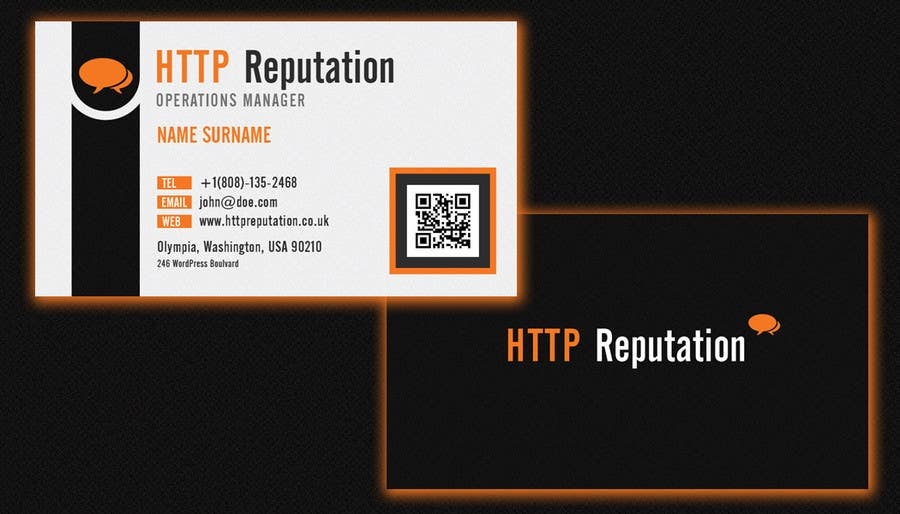 #23 for Business Card and letter head Design for httpreputation by argpan