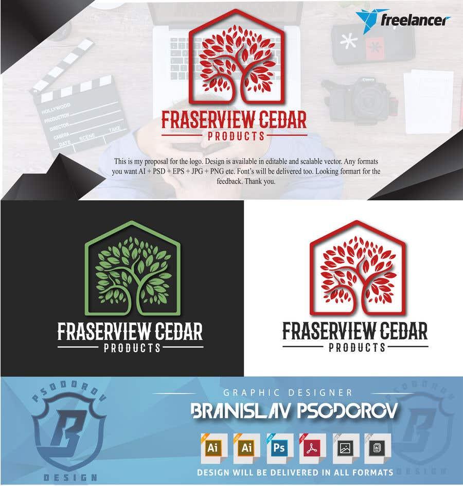 Bài tham dự cuộc thi #183 cho Fraserview cedar Logo