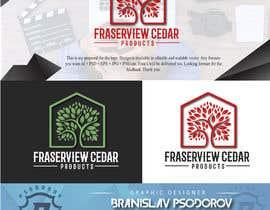 #183 para Fraserview cedar Logo por bpsodorov
