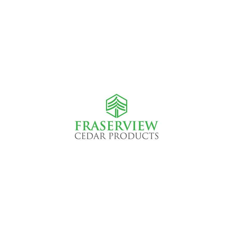 Bài tham dự cuộc thi #177 cho Fraserview cedar Logo