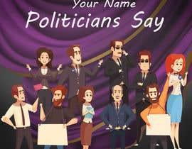 #84 for Politicians Say album artwork by hr260755