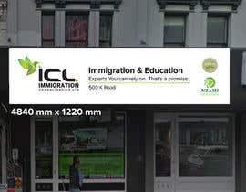 Nro 31 kilpailuun Design a Signboard for our Immigration Business käyttäjältä iqbalsujan500