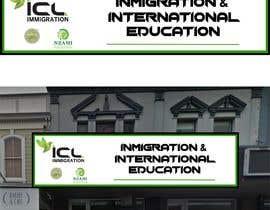 Nro 139 kilpailuun Design a Signboard for our Immigration Business käyttäjältä carlosgirano