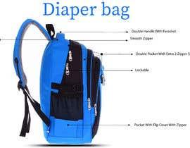 #2 for Diaper bag backpack Design af shahbaz033217945