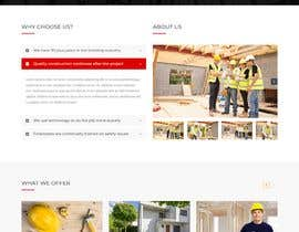 #48 for New website needed for building/construction company by sanjdur123