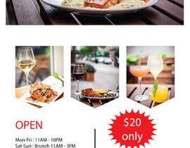 Nro 25 kilpailuun Restaurant Poster Ads käyttäjältä jhoque18