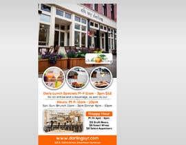 Nro 84 kilpailuun Restaurant Poster Ads käyttäjältä RABIN52