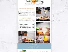 Nro 42 kilpailuun Restaurant Poster Ads käyttäjältä annahavana