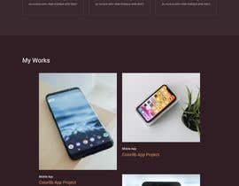 #13 untuk Create a Landing page Personal Website oleh Mahamud2