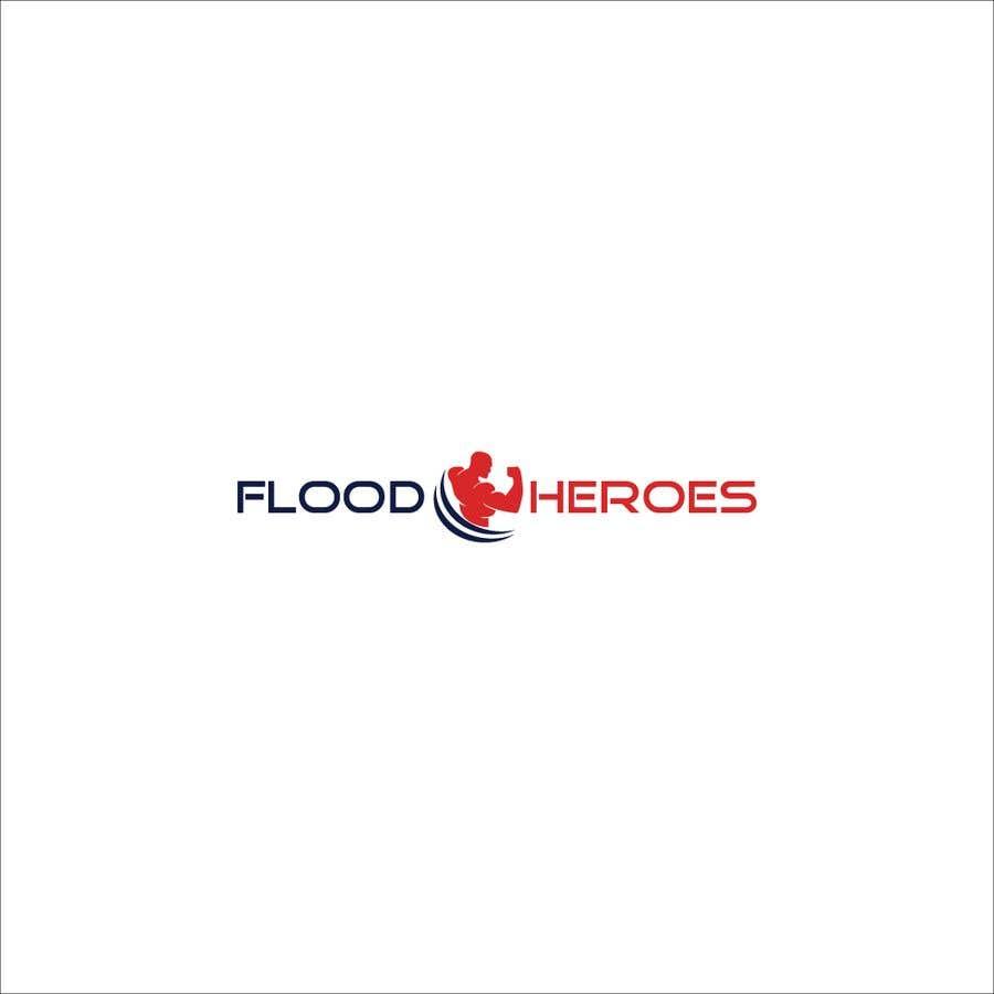 Kilpailutyö #                                        67                                      kilpailussa                                         Flood Heroes Logo